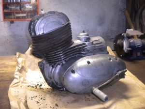 motor cz 250 455